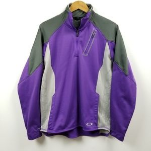 Oakley Hydrolix Mens 1/4 Zip Shirt Jacket Medium